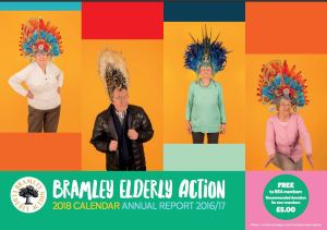 Front cover of BEA 2018 calendar and 2016/17 annual report