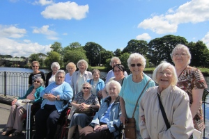 Extra care trip to Ilkley