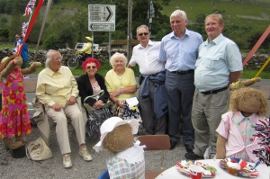 BEA members at the Kettlewell Scarecrow Festival
