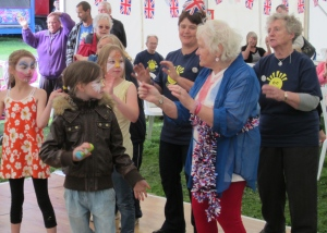 Generations together at Bramley Carnival