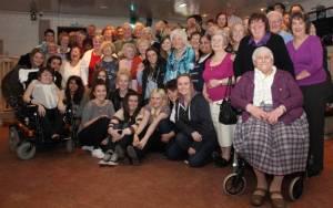 Volunteer party, February 2013