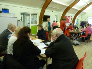 Hearing loss clinic with BEA craft group