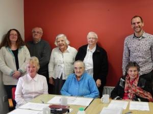 Memebers of the BEA Board, April 2014