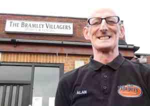 Alan Dixon at the Villagers