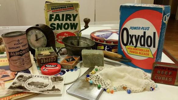Household items at Dementia day