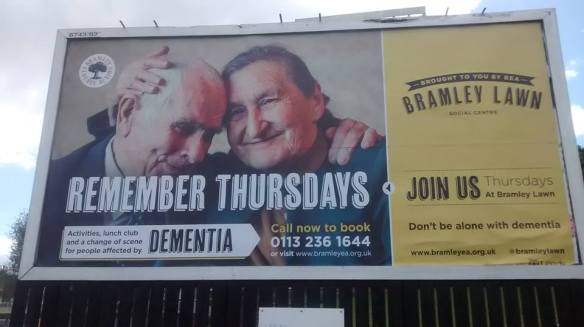 Thursdays billboard, Armley