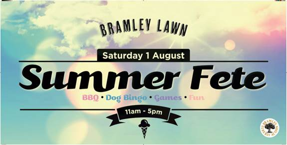 Bramley Lawn Summer fete 2015 image