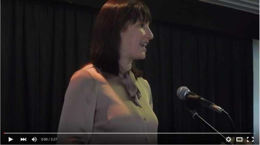 Rachel Reeves MP speaking BEA's AGM 2015 (YouTube)