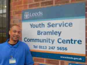 Claude Davis at Bramley Community Centre