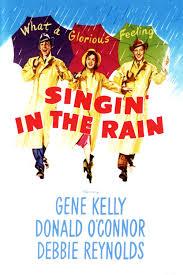 Singin in the rain film poster