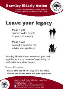Leave Your Legacy Poster