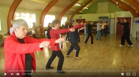 Watch video of BEA tai chi group