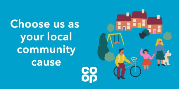 Choose us at your local Co-op logo