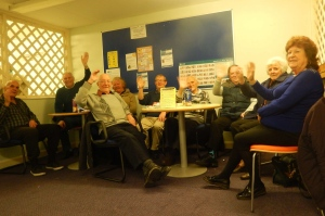 BEA members at the Thursday drop-in