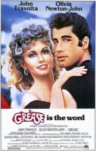 Film poster for Grease