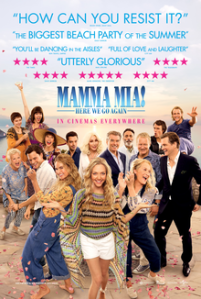 Poster for Mama Mia - here we go again!